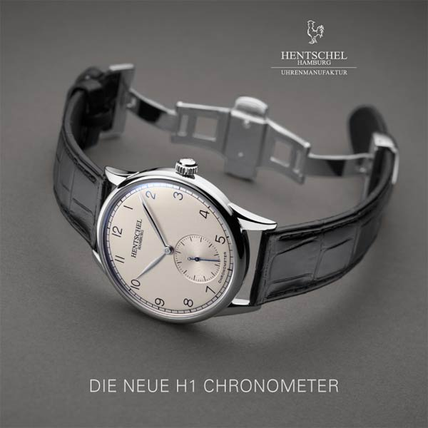 NEUE H1 CHRONOMETER | HENTSCHEL HAMBURG Uhrenmanufaktur